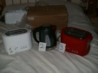 TOASTERS & KETTLE BRAND NEW