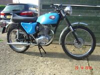 BSA Barracuda 1967. This owner since 1976. Unused since early 70's.