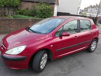 Peugeot 307 1.6 petrol 2002