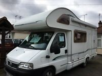 BESSACARR E435 -5 BERTH MOTORHOME 2003 -ONLY 25,000-LEFT HAND DRIVE- EXCELLENT CONDITION