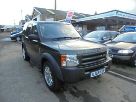 2009 59 landrover discovery 3 2.7 tdv6 commercial. 30 + cars in stock.