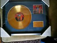Music gold disc