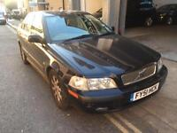 Volvo S40 4 Door Automatic Mot and Tax Full Leather Aircon