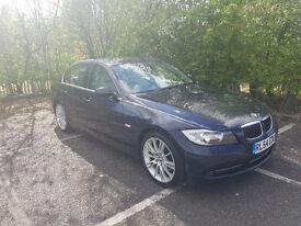 BMW 330i Manual Petrol E90 Blue Saloon SE Full leather interior sat nav dual climate control