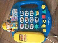 Six toddler electronic toys