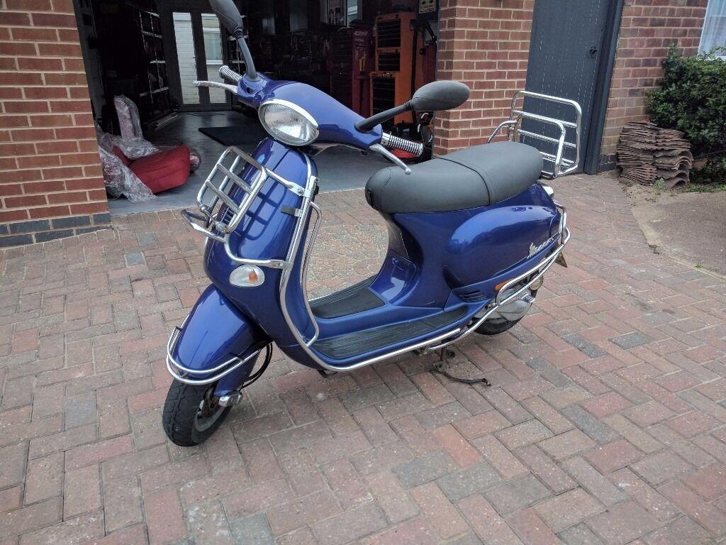 Vespa Piaggio ET2, 50cc,2001,Full MOT,3387 miles,Derestricted