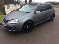"VW Golf Mk5/6 Genuine (Rare) Black 18"" Charleston Alloys with 225/40/18 Continental Tyres"