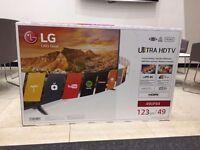 "LG 49"" SMART TV w/4K. BEST PRICE!!"