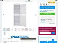New integrated fridge freezer. 50 50 split 100litre please see picture below. Purchased in error