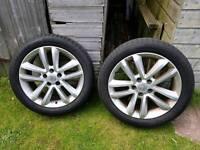 Vauxhall Vectra Alloys 215 50 17 Alloy Wheels 2 of