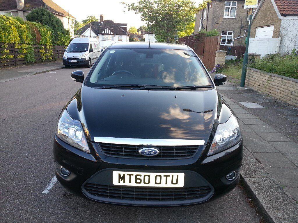 Ford Focus 2011 (60) 1.6 petrol 5 door Black Titanium Manual