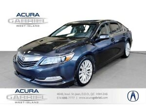 2014 Acura RLX Technology Packag CUIR+TOIT+NAVI+BLUETOOTH+CAMERA
