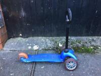 Mini micro scooter with o bar for toddlers