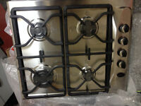 whirlepool akm274, gas hob, new, stylish, 4zoone