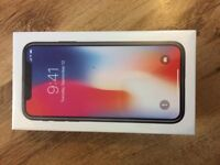 IPhone X - 64GB - BRAND NEW IN SEALED BOX - £750 ONO