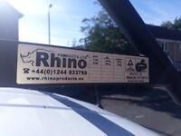 Rhino Modular roof rack with rear roller