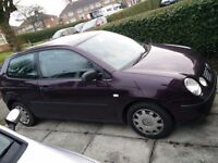 VW Polo 1.2 - Excellence Runner - ONLY Damaged Door !!!!!!!!!!!!