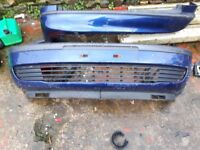 Vauxhall zafira mk1 front and rear bumpers