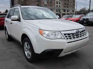2011 Subaru Forester 2.5X AWD/102KMS/AUTOMATIC/WARRANTY AVAILABL