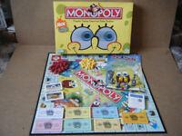 Monopoly (SPONGEBOB SQUAREPANTS EDITION) board game. Parker games 2005. Complete.