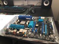 """KIT"" Asus M5A99FX pro rev 2.0 , AMD FX 8350 , FURY Hyperx 8GB DDR3"