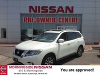2015 Nissan Pathfinder SL TECH. NAVI, ROOF, CAMERAS, LEATHER, AL
