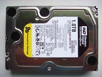 Western Digital RE4 Enterprise Black WD1003FBYX 1Tb SATA II Hard Drive 64MB cache 7200 rpm