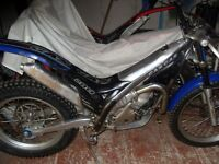 Gas Gas TXT 280cc pro trials bike 2005