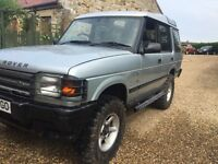 Landrover discovery v8 lpg off road ready