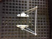 Lambretta spare wheel bracket