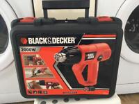 Black and Decker 2000w Heat Gun Brand New Sealed. REDUCED 19 SEPTEMBER