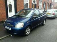 Toyota yaris Automatic Cdx 5 door long mot Cheap to run and insurance