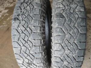 Four  255-70-`18 tires $300.00