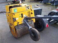 Terex MBR 71 vibrating pedestrian roller