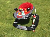 Bebe Style Deluze F1 Racing Car Walker Red/Grey. Good condition