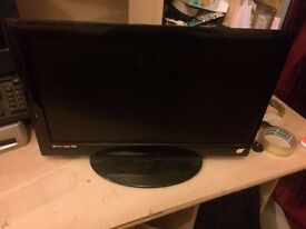 "***FOR SALE 18.5"" LCD TV with DVD player attachment***"