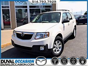 2011 Mazda Tribute GX V6 + AWD + JAMAIS ACCIDENTÉ