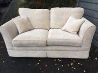 Comfortable 2-3 seat Cream Sofa