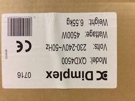 DIMPLEX QXD4500 QUARTZ HEATER