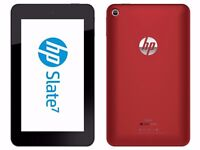 "Hp slate 7"" tablet, as new boxed, red £45 fixed price"