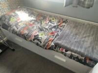 IKEA single bed with double bed expansion