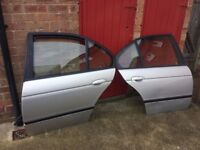 BMW e39 Doors OS right NS Left Rear 5-series 520 523 525 528 530