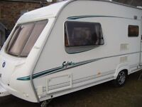 ### 2005 Abbey Safari 520 , 4 Berth Caravan with Full Awning ###