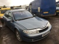 Renault Laguna petrol spare parts available 2003 year