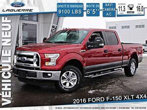 2016 Ford F-150 XLT + 124$/SEM + TOILE GRATUITE