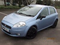 FIAT GRANDE PUNTO 2008 1.2 5 DOOR 72K NEW MOT GREAT VALUE