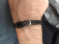 Mens bracelet Armani