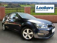 Volkswagen Golf MATCH TSI BLUEMOTION TECHNOLOGY DSG (blue) 2015-06-29