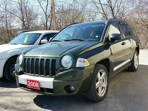 2008 Jeep Compass Limited,,cert&etested
