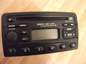 ford transit stereo CD 6000 NE